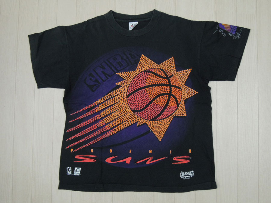 画像1: 90's anvil Tシャツ/NBA-SUNS/L