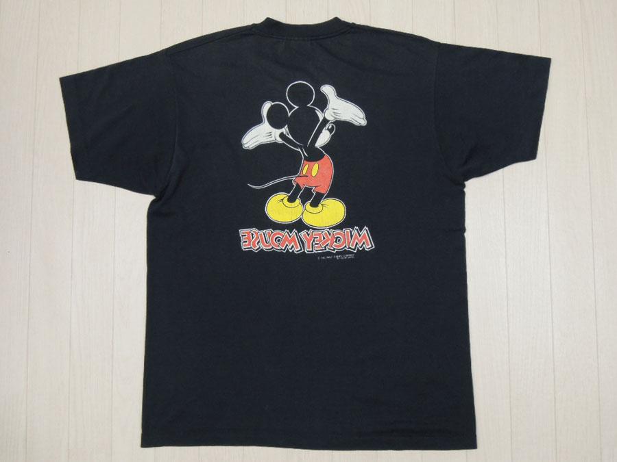 画像1: 〜90's S.STARS Tシャツ/ミッキー/XL