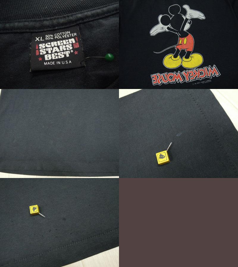 画像3: 〜90's S.STARS Tシャツ/ミッキー/XL