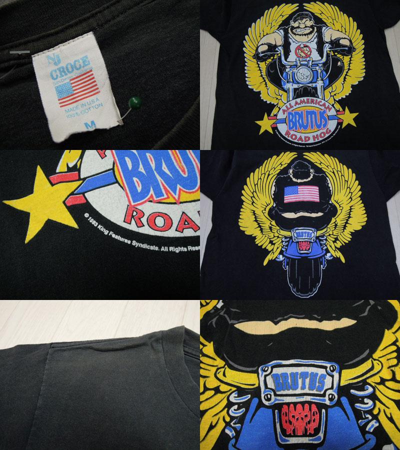画像3: 90's CROCE Tシャツ/BRUTUS/M