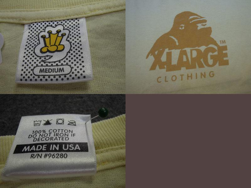 画像3: X-LARGE Tシャツ/M
