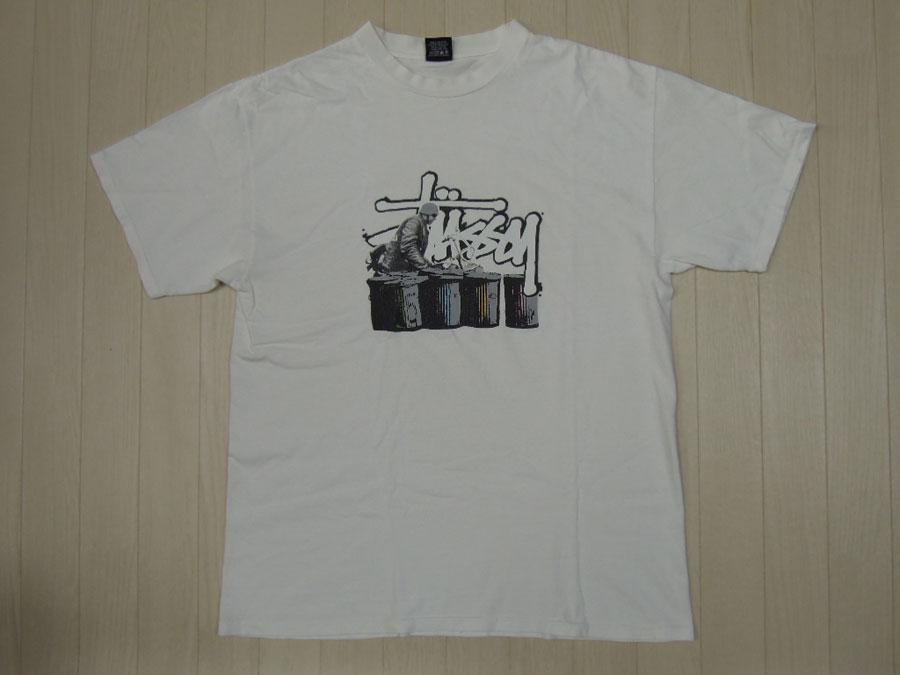 画像1: 00's stussy Tシャツ/L