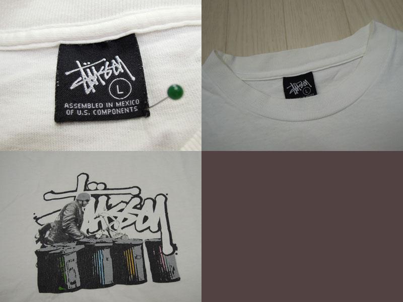 画像3: 00's stussy Tシャツ/L