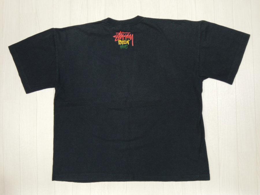 画像2: 80's stussy Tシャツ/黒タグ/F