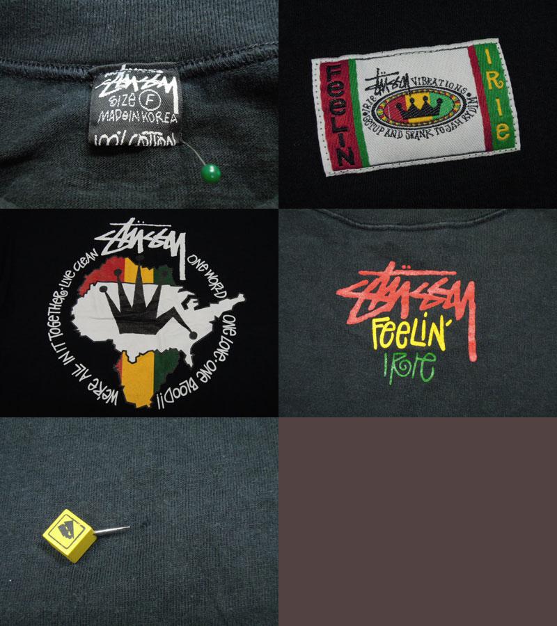 画像3: 80's stussy Tシャツ/黒タグ/F