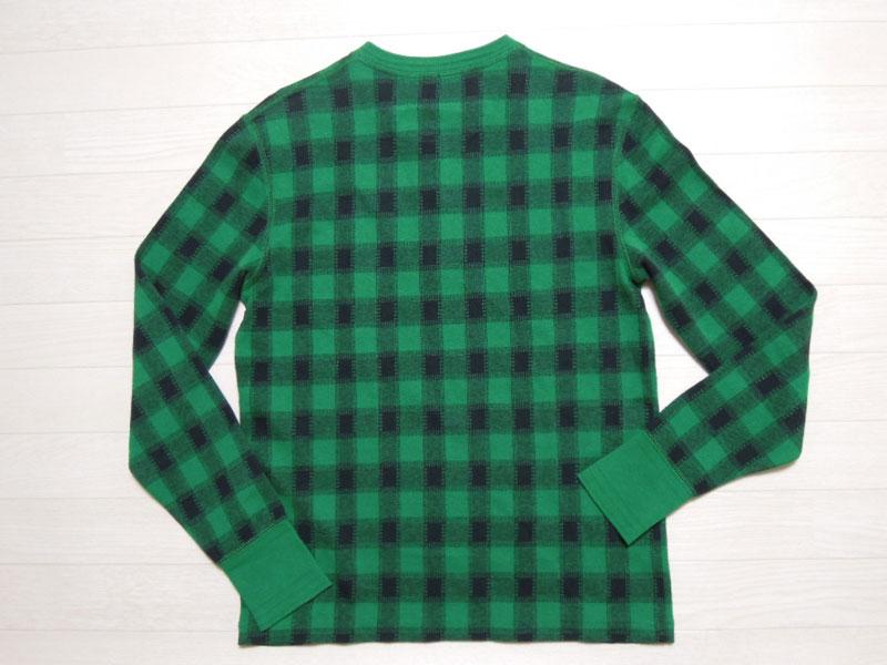 画像2: Polo Ralph Lauren ヘンリー長袖 Tシャツ/DEAD STOCK/M