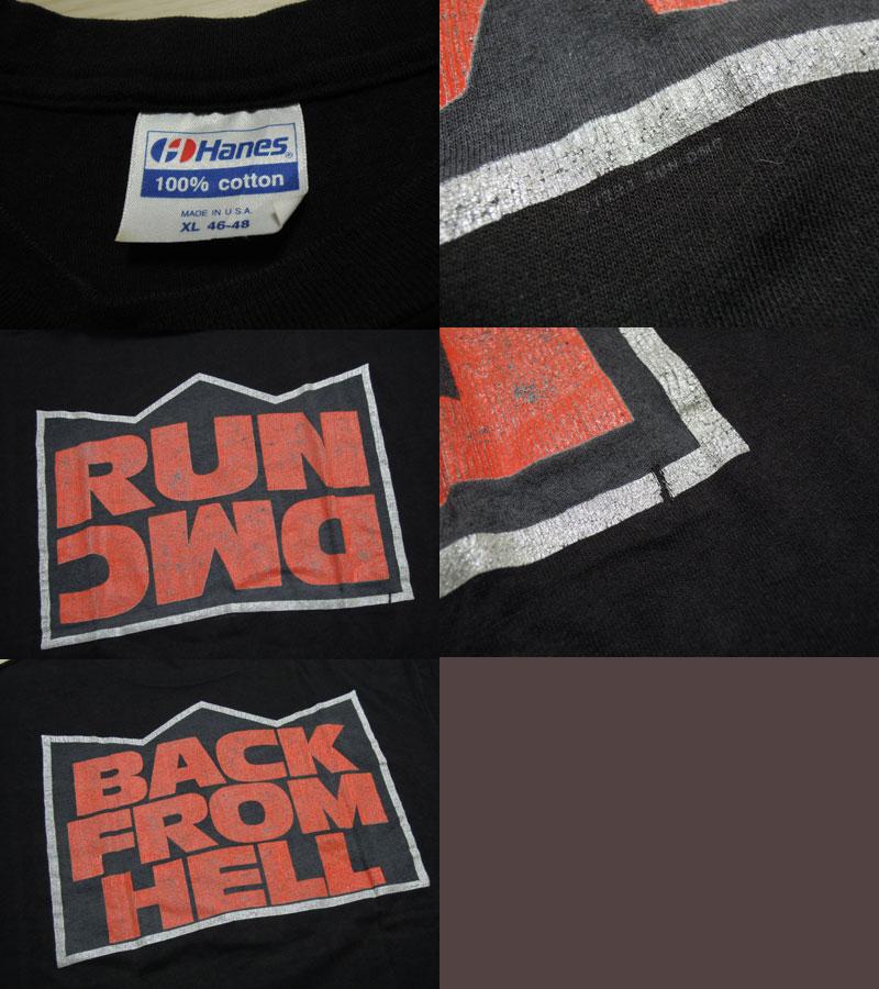 画像3: 1991's RUN DMC  BACK FROM HELL Tシャツ