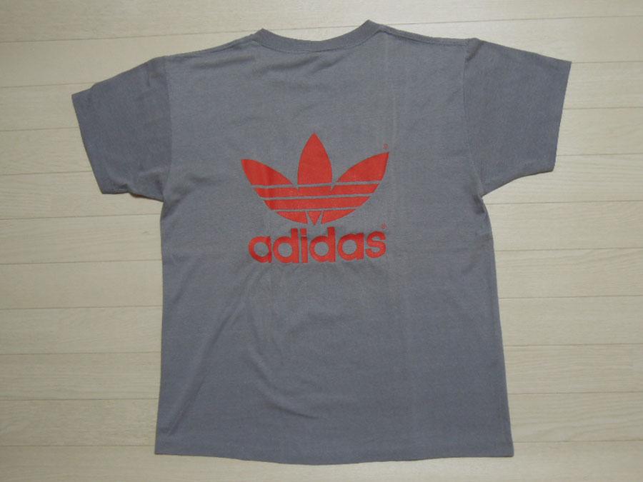 画像2: 80's adidas Tシャツ/USA製/L