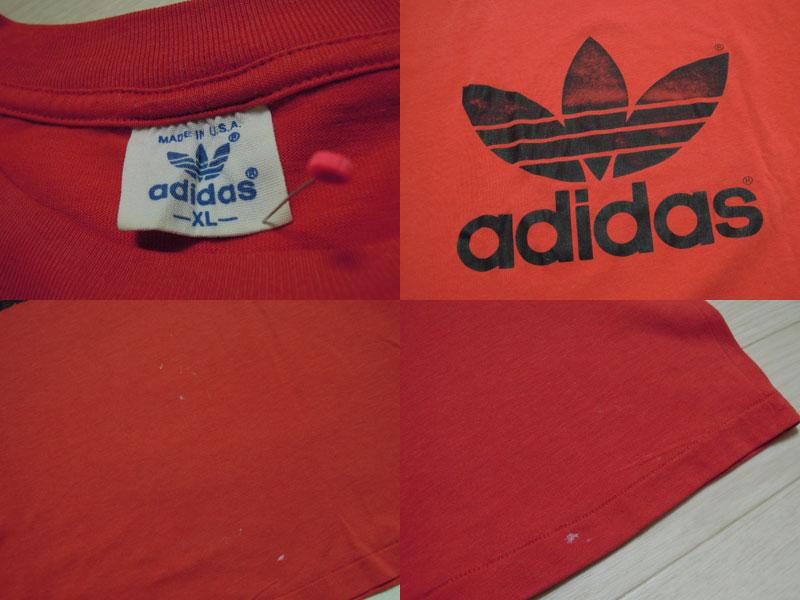 画像3: 80's adidas Tシャツ/USA製/XL