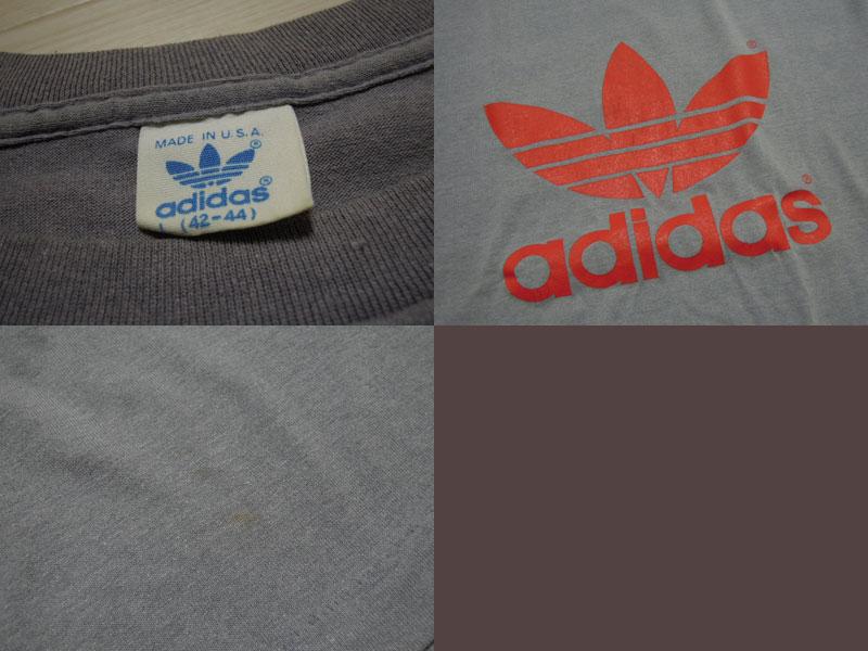 画像3: 80's adidas Tシャツ/USA製/L