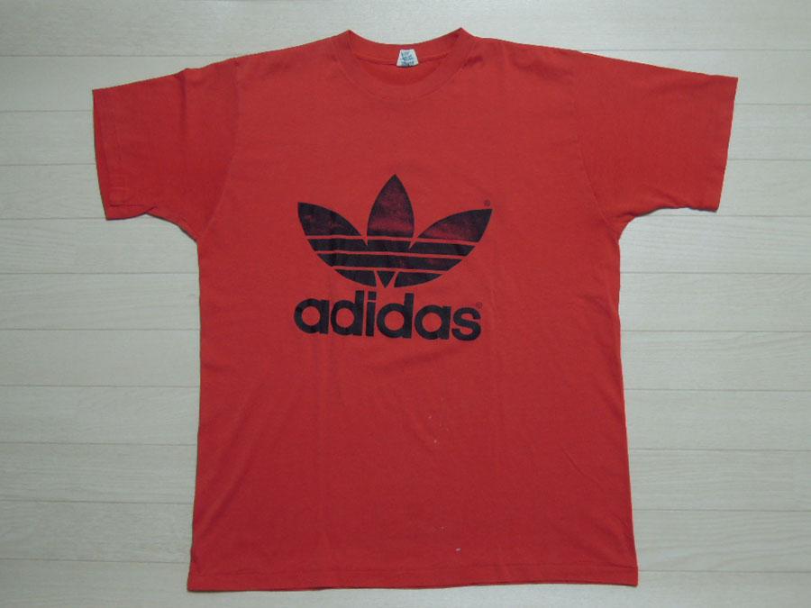 画像1: 80's adidas Tシャツ/USA製/XL