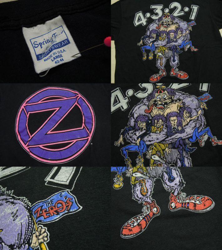 画像3: 1991's THE ZERO'S Tシャツ/L