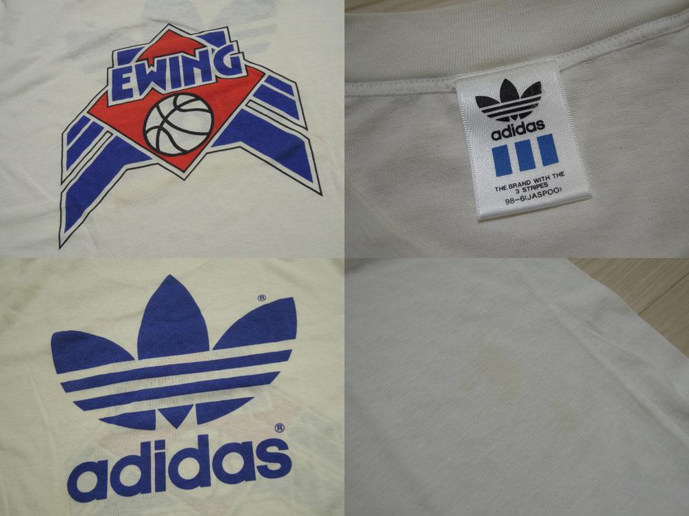 画像3: 80's adidas & EWING Tシャツ/L