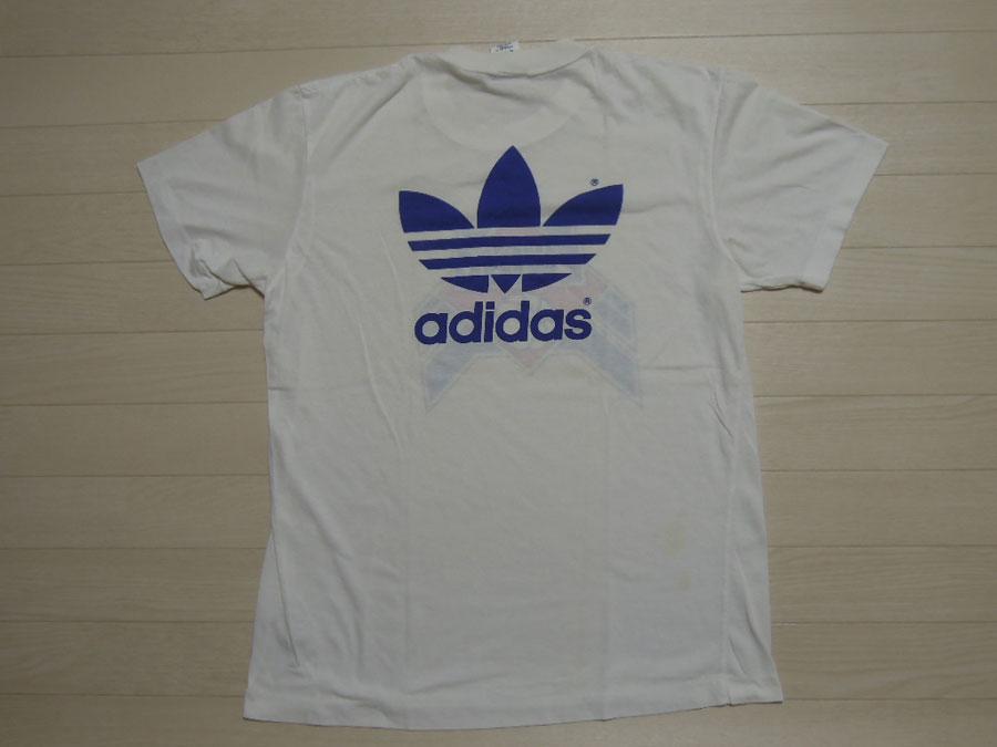 画像2: 80's adidas & EWING Tシャツ/L