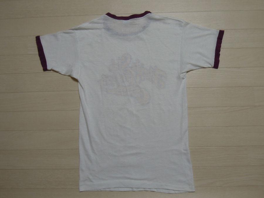 画像2: 70's CHAMPION Tシャツ/バータグ/染み込み/L