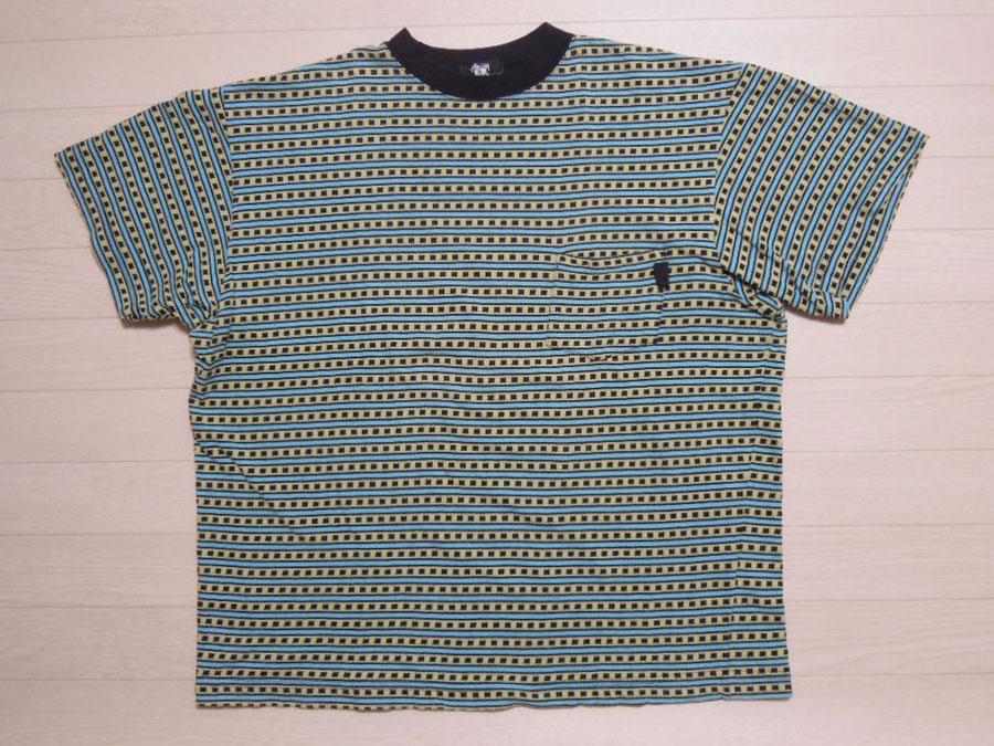 画像1: 80's stussy Tシャツ/黒タグ-USA製/XL
