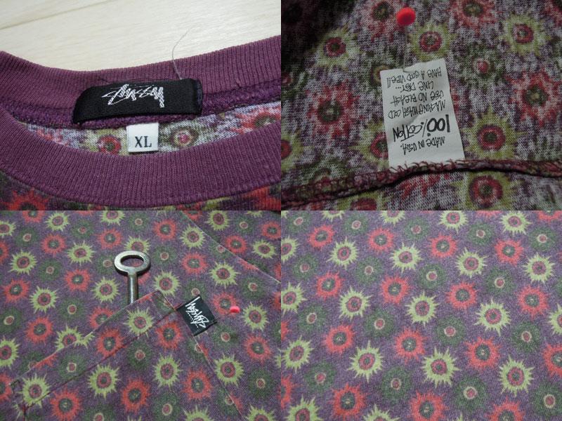 画像3: 80's stussy Tシャツ/黒タグ-USA製/XL