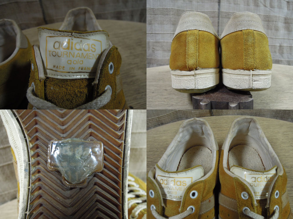画像3: 70's adidas TOURNAMENT GOLD/FRANCE製/11