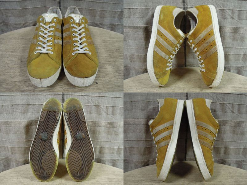画像2: 70's adidas TOURNAMENT GOLD/FRANCE製/11