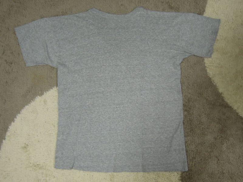画像2: 80's CHAMPION Tシャツ/88-12/Vネック/染み込みプリント/XL