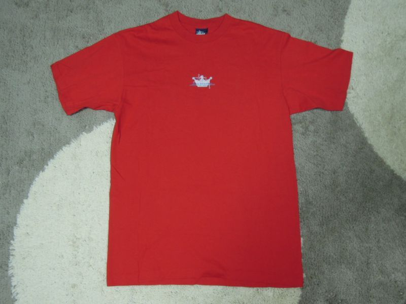 画像2: 〜00's stussy Tシャツ/紺タグ-USA製/L