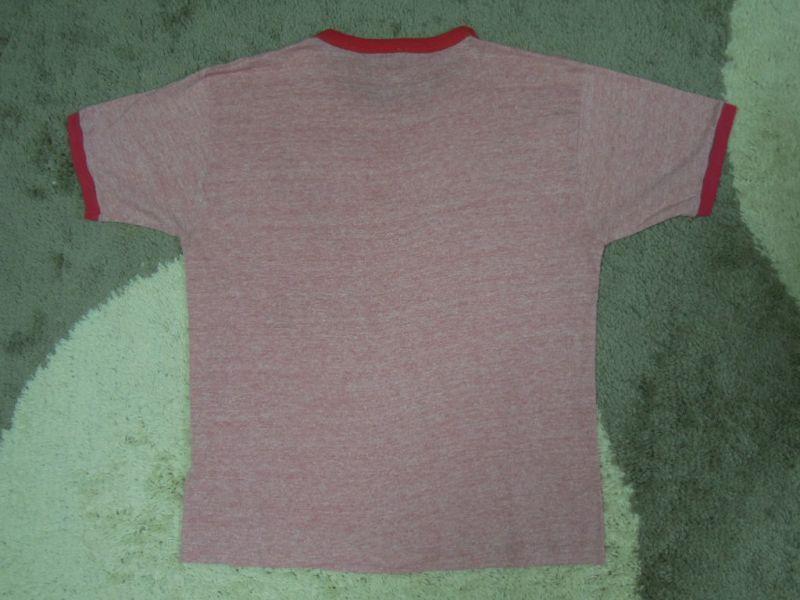 画像2: 80's adidas Tシャツ/霜降り&レインボー/L