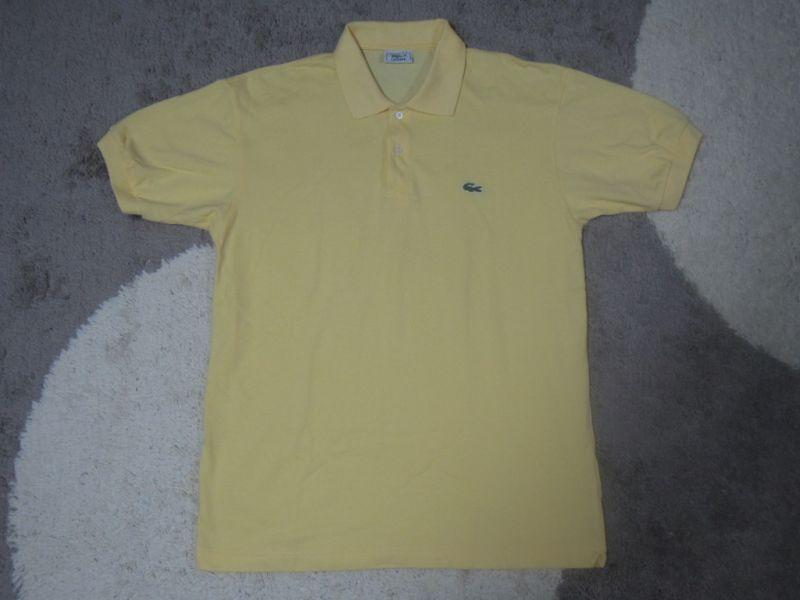 画像1: LACOSTE ポロシャツ/フランス製/XL