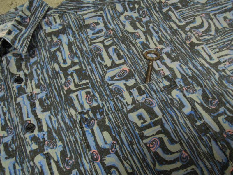 画像5: 〜90's MAXX 半袖シャツ/USA製-総柄/M