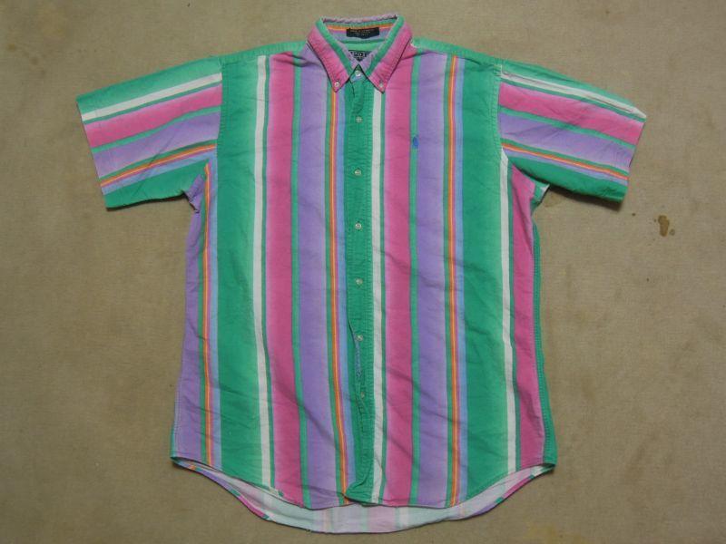 画像1: ラルフローレン 半袖シャツ/Boy's XL