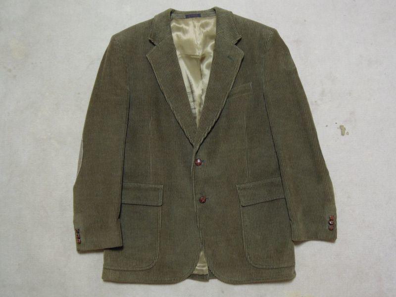 画像1: traditionalist テーラードジャケット/太畝コーデュロイ/40R