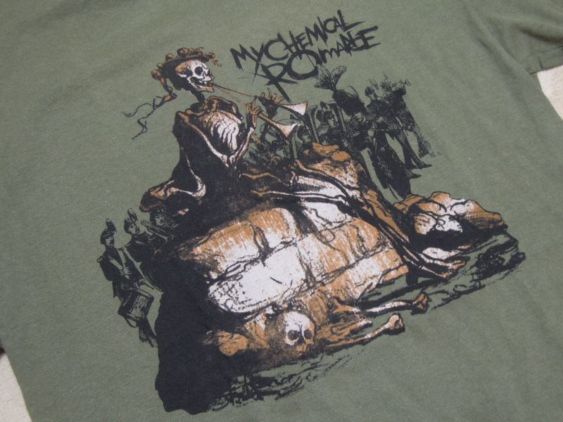 画像4: 00's MY CHEMICAL ROMANCE Tシャツ/S