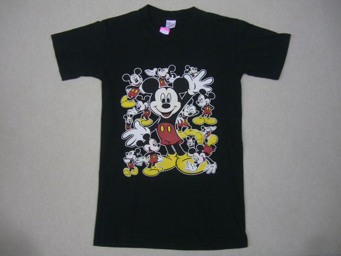 画像1: 80's〜ミッキーマウス Tシャツ/S