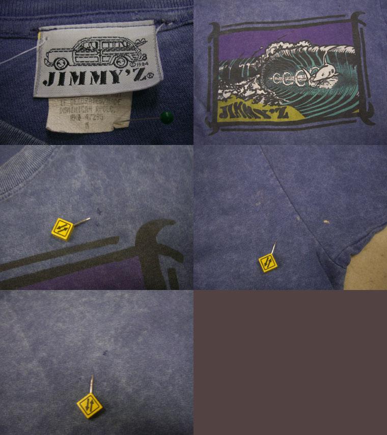 画像3: 80's JIMMY'Z Tシャツ/M