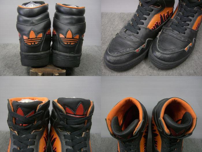 画像3: 80's adidas CITY LINE Hi/珍色黒ベース/5